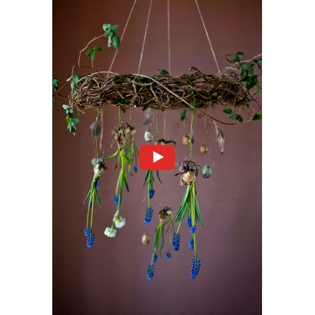 Easter wreath - Video course